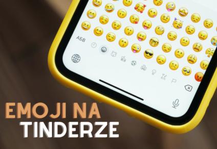 Klawiatura emoji na telefonie